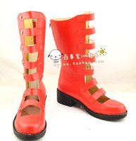 Wholesale Into the Woods Little red riding hood cos Cosplay Shoes Boots shoe boot JZ654 anime Halloween Christmas