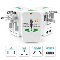 ac protector - Travel Universal Wall Charger AC Power Adapter For Surge Protector International AU UK US EU Plug All in One Chargers