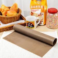 baking cloth - Excellent CM High Tempreture Resistant Cloth Baking Mat BBQ Sheet Anti oil Fabric Baking Linoleum Reuse Oil Paper ZH799