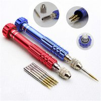 Wholesale S2 Professional in in1 Open Tools Kit Repair Screwdriver Set T5 T6 PH000 MM MM Bit For iphone G S C S Samsung Nokia