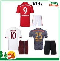 bayern kids - 2016 Bayern kids boy kit RD home Away jerseys VIDAL COATA LEWANDOWSKI MULLER ROBBEN GOTZE BOATE