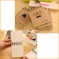 Wholesale Fashion Men Style Cute Mini Notebook Creative Notepad Business Diary Office Student Portable Cotebook Creative Recording Memo Pad