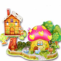 Wholesale New high quality children aged hand hold non toxic harmless puzzle puzzle paper early education model