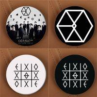Men's animal planet animals - Youpop KPOP EXO EXO K EXO M EXODUS PLANET Album Brooch K POP Pin Badge Accessories For Clothes Hat Backpack Decoration HZ1576