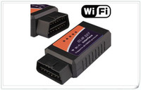 Wholesale Car Polish Pads - ELM327 WIFI OBD 2 II Car Diagnostic Interface Scanner Support for android, i-Phone, i-Pad High Quality