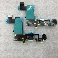 Wholesale USB Dock charger Charging Port Connector Headphone Audio Jack Flex cable Part For iPhone s Plus