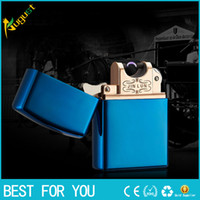 ac arc - New Usb Lighter Rechargeble Electronic Cigarette Lighter Smoking Windproof Lighters torch lighter usb lighter Arc lighter hot whole