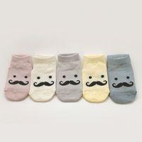 bebe designs - 2016 Spring Creative Mustache beard Design Baby Socks Newborn Infants Bebe girls boys cute wear Month