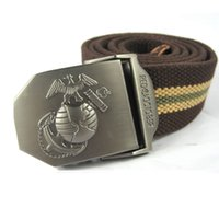 animal cobra - New High Quality Thicken Canvas King Cobra Military Belt Army Tactical Belt Men Strap colors cm
