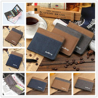 Wholesale Men Wallets Genuine Leather Mens Wallet Male Purse Carteira Wallet Leather New Design Purses Designer Wallets