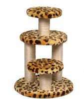 Wholesale Cat Tree Cat Toys Fashion Cat Safety Soft Climb Cat Climbing Frame Pure Color Cat Climb Inches to Inches