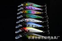 al por mayor señuelos para perros-8 Piezas Minnow duro de peces de cebo 10cm 11,8g swimbait vibración que criba señuelo Perros Bass Killer Equipos de pesca del tipo de pez