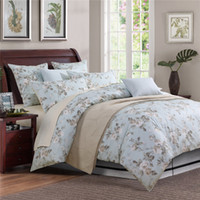 american jazz - Home textile Classic American country style luxury Egyptian cotton Bedd sets Jazz rose twim king queen size bed sheet pillowcase