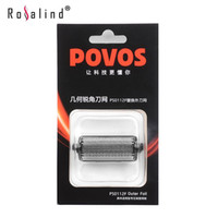 Wholesale POVOS Electric Shaver Orginal Superior Replacement Blade Razor Blade Head for Men PS0112F