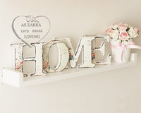 antique wall letters - quot HOME quot Lettter Wooden Furnishings Wooden Letter Home Decor Bar amp Window Show Wooden Wall Decor Craft