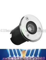 Wholesale 1W LM V Waterproof Ip65 Warm White White Recessed Ground LED Deck Underground Light Lamp LLFA