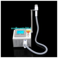 Wholesale Best Price Big Promotion Portable Q switch Nd Yag Laser Tattoo Removal nm nm Black Doll Skin Rejuvenation Machine for Salon