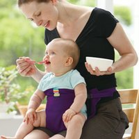 baby booster seat - Infant Chair Portable Seat Dining Lunch Chair Seat Safety Belt Stretch Wrap Feeding Chair Harness baby Booster Seat ZA0257