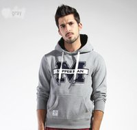 Wholesale 2016 New Autumn Fsahion Style Sports Long sleeves Thickened Active Hooded Contracted Casual Comfortable Man s Hoodies