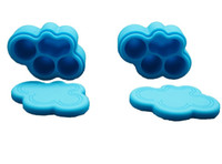 bee honey jar - 10pcs Cloud Shape nonstick Silicone Container Jar Honey Dab Box Bee Insects silicone jars for concentrate ML