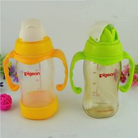 Wholesale Mr Pro wide caliber PPSU baby bottle bottle baby wrap ml plastic bottle with straw