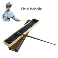 Wholesale New Metal Core Fleur Delacour Magic Wand Harry Potter Magical Wand High Quality Gift Box Packing