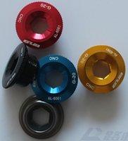 arm sram - Brand New Seiko GUB G Crank Arm Bolts CNC Aluminum Road Bike MTB Cranksets adaptation microshift SRAM SHIMANO