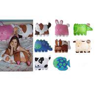 Wholesale Cartoon Amimal Pillowcase Creative Pillow Case Cover Blue Dinosaur Pillowcase Rabbit Pillow Cover Fish Pillow Cover