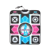 Wholesale HD Non Slip Dancing Step Dance Mat Pad Pads Dancer Blanket Fitness Equipment Revolution Foot Print Mat to PC with USB New