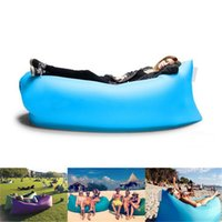 Wholesale Fast Inflatable hangout Air Sleep Hiking Camping Bag Bags Bed KAISR Beach Sofa Lounge Only Ten Seconds inflate DHL