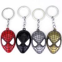 Marvel super heroes España-Envío gratuito Marvel Super Hero hombre araña el hombre araña asombroso llavero de metal Llavero Llavero Key Rings