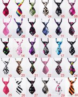 Wholesale 50pc Factory Sale New Pet Elastic Neckties Tie Bow Pet Tie Dog Pet Clothes Cat Dog Ties BOWS TI P10