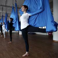 yoga equipment - High Strength Yoga Swing Bed Training Yoga Belts Fitness Equipment Yoga Hammock MD0032 salebags