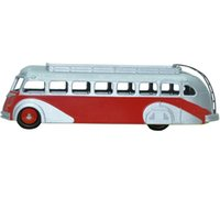 big red bus - Dinky Toys Miniatures New Editions E Autocar Isobloc Car Model Scale Red With Grey Bus Toys Best Seller