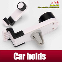 Wholesale 360 Degree Universal Mini Car Air Vent Clip Mount Holder Rotating for Cellphone phone iPhone quot S S