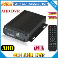 Wholesale ch SD Card AHD DVR CH Vehicle DVR CH full P CAR DVR support G SD CARD