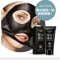 Wholesale Face Care Suction Black Mask Facial Mask Nose Blackhead Remover Peeling Peel Off Black Head Acne Treatments Better Than PILATEN