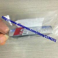 Wholesale DHL Factory Sale Good Quality metal MATT S Line sline Chrome grill badge Car Logo badges emblem embles