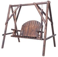 antique wooden swing - Outdoor Furniture Leisure Wooden Patio Swing For Garden
