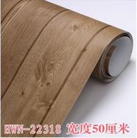 bedroom wardrobes designs - Thickening of wardrobe furniture wood grain paper doors and window self adhesive paper wallpaper CMX3M