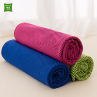Wholesale Microfiber Towel Sport Gym Apathetic Ice Towels Absorbing Fast dry Towels High Quality Home Face Beach cm Colors Towel