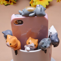 Wholesale Universal cartoon mm Anti Dust Plug Cute cheese cat Earphone jack plugs caps cheese ear plugs universal for iPhone Samsung android IOS