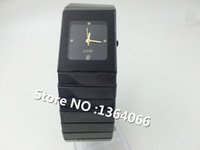 Wholesale Ceramic watches high quality men s casual square watch quartz watch men and women watch waterproof couple tables
