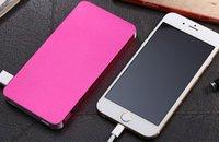 L13 2016 nueva energía móvil portátil barato tesoro de carga ultra-delgada de suministro 20000 miliamperios gran capacidad de rosa negro