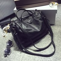 best motorcycle bags - 2016 Women Bags High Quality Best Selling New Style Fashion Casual Pu Leather Black Color Motrocycle Bags Crossbody Bags