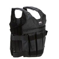 Wholesale Weight Jacket Weighted Vest Max kg Adjustable Exercise Boxing Sanda Training Waistcoat Invisible Weightloading Sand Vest Empty