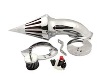 Wholesale Motorcycle Air Cleaner Kits for Honda Spirit ACE up Air Cleaner Kits chrome black MT225