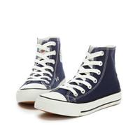 Zapatos PP Escuela muchachas de la manera ocasional Estudiante de la zapatilla de deporte de la lona superior de la calle mujeres de la manera de la plataforma del ventilador