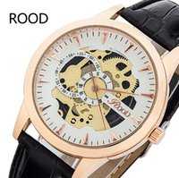 autos deportivos - Brand ROOD R6kong Luxury Men Watch Hollow Out Style relojes deportivos Waterproof Wristwatches Non mechanical Auto Watches