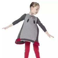 animal owl jumper - Owl Sequin Wool Sweaters Korean Girl Dress Kids Pullover Girls Tops Autumn Crochet Sweater Children Clothes Kids Clothing Ciao C26426